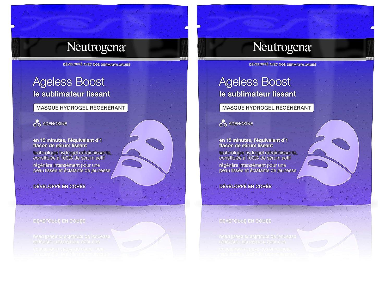 Neutrogena Ageless Boost Mascarilla De Hidrogel Régénérant ...
