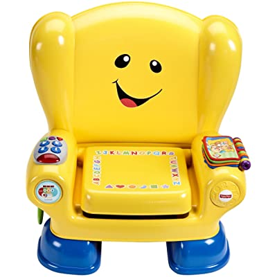Fisher-Price Laugh & Learn Smart Stages Chair, retail_packaging: Toys & Games