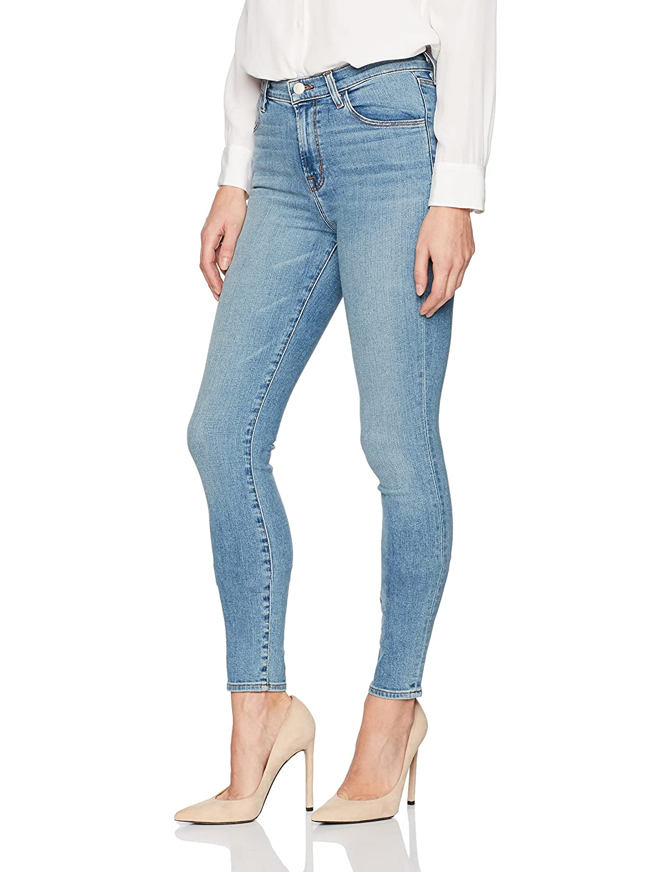 J Brand Jeans Womens Maria High Rise Skinny