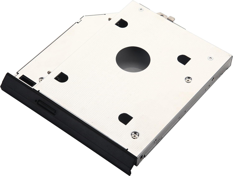 DeYoung 2 nd disco duro HDD SSD Caddy Adaptador para HP EliteBook ...