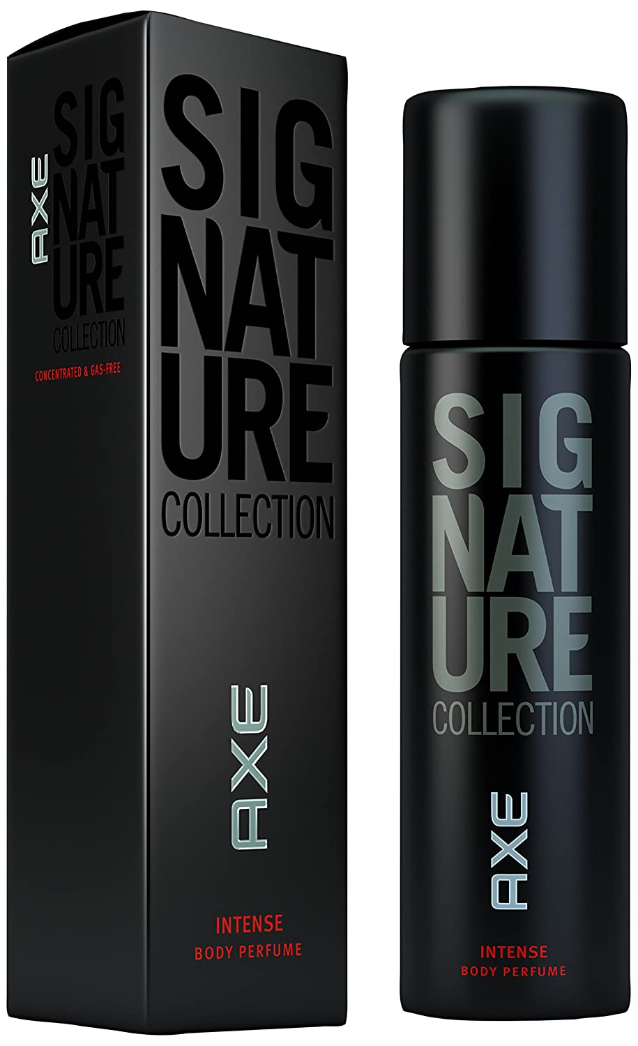 Axe Signature Collection Black Series For Men Deodorant INTENSE Body Spray Perfume Deo 122ml by AXE