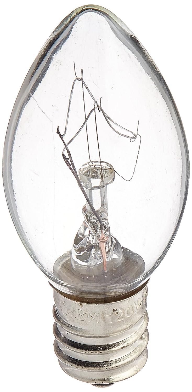 TGS Gems 25 Watt Himalayan Salt Lamp Light Bulbs Incandescent Bulbs E12 Socket-12Pack 1st Choice YDD001