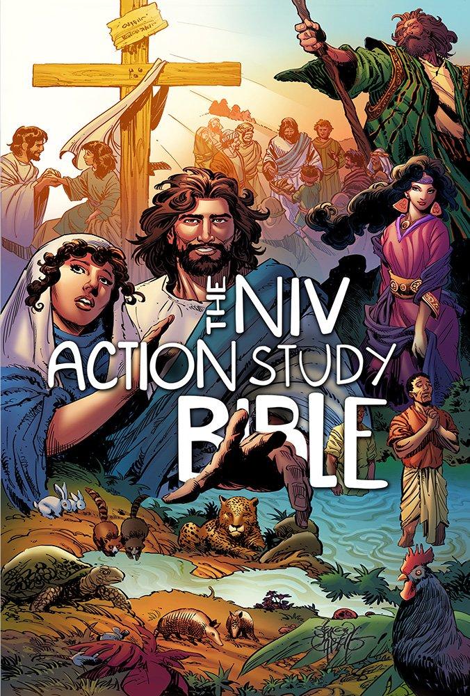 The NIV, Action Study Bible (Action Bible Series)