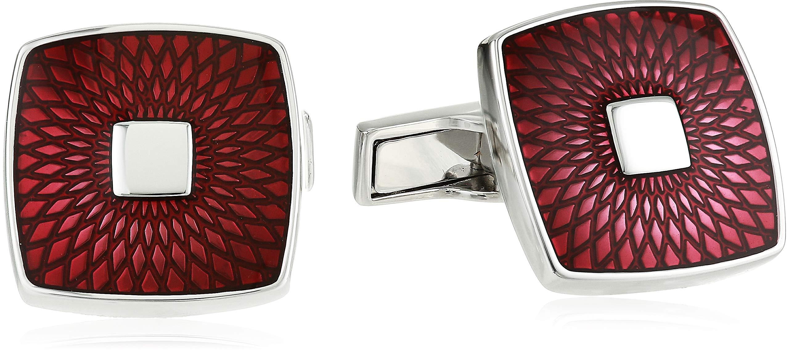 Ted Baker Men's MINAM Cufflinks, red O/S