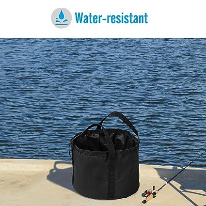 8.5-14L Outdoor Travel Camping Folding Wash Basin Bucket Bath Sink Bag Water Pot