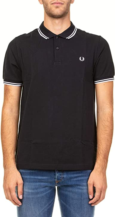 Fred Perry Luxury Fashion Hombre FPM360027238 Azul Polo ...