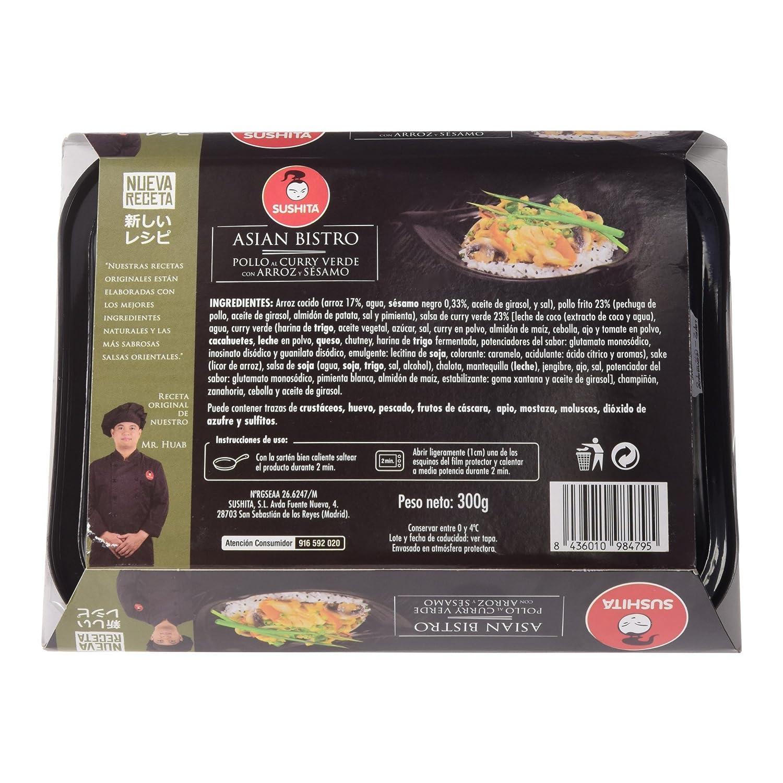 Sushita - Pollo al Curry Verde con Arroz y Sésamo: Amazon.es: Alimentación y bebidas