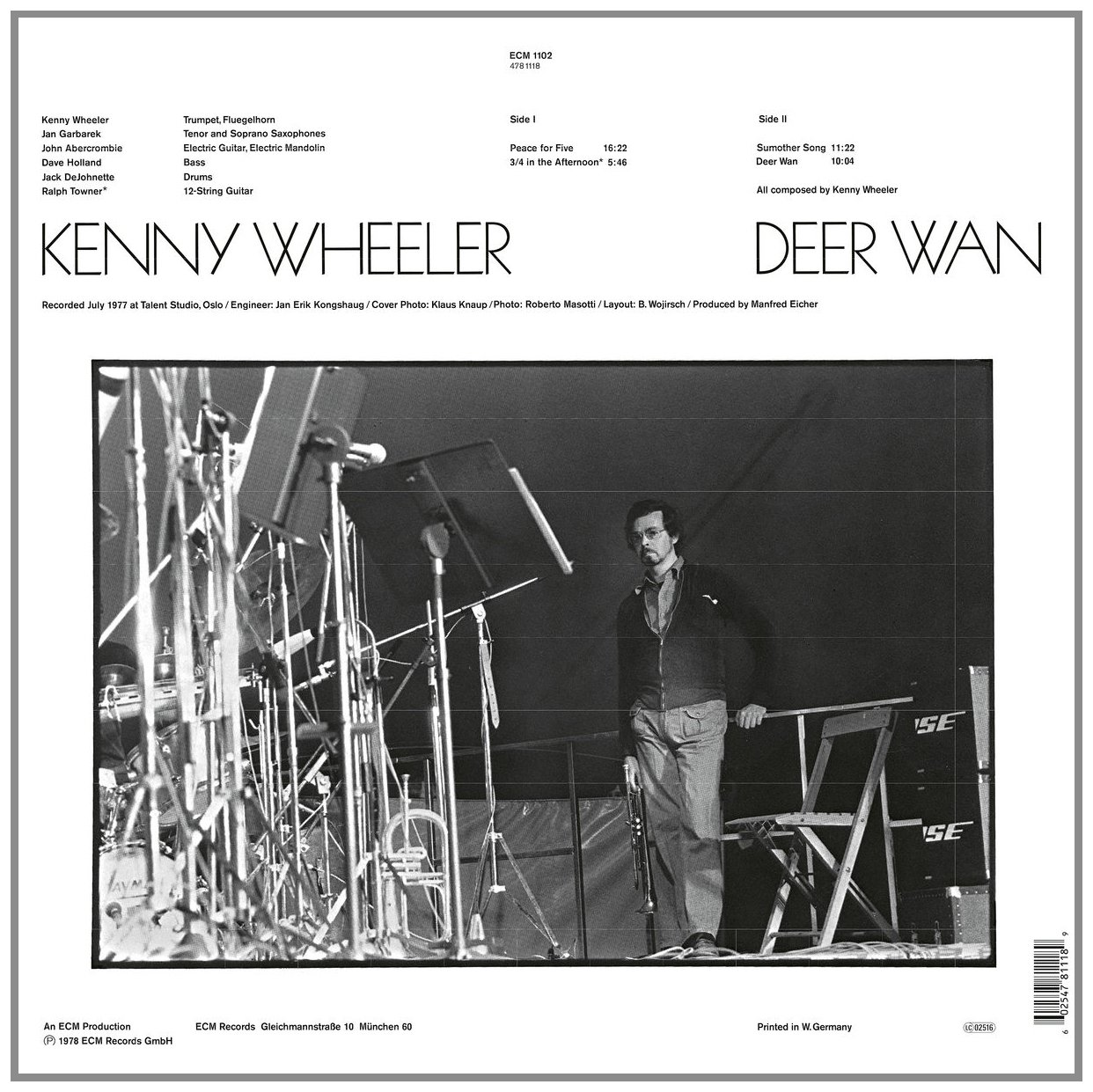Image result for Kenny Wheeler: Deer Wan