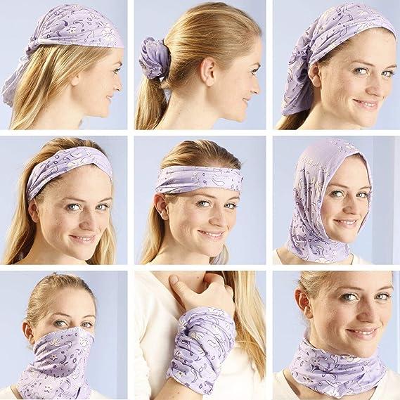 TAGVO Rave Bandana Neck Gaiter Tube Headwear Bufanda mascarilla Diadema pasamonta/ñas para Mujeres y Hombres el/ástico Headwrap Unisex Starry Sky Style