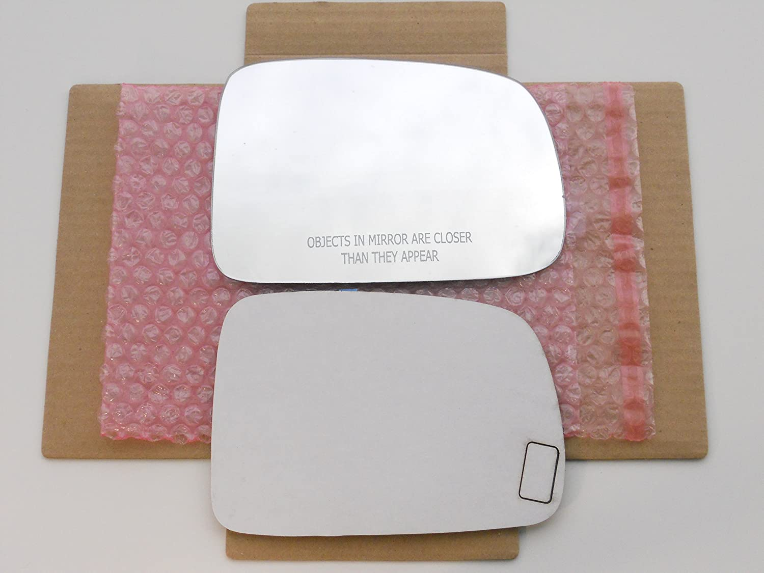 New Replacement Mirror Glass with FULL SIZE ADHESIVE for 1997-2006 HONDA CR-V CRV Passenger Side View Right RH