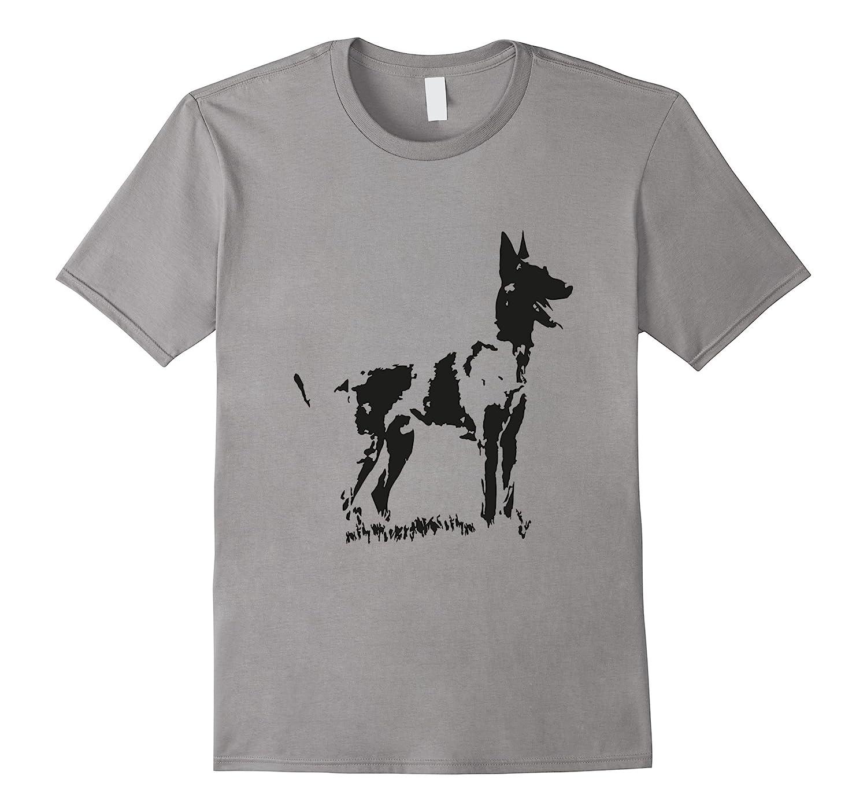 Belgian Malinois T-Shirt Official the coolest Watchdog-Art
