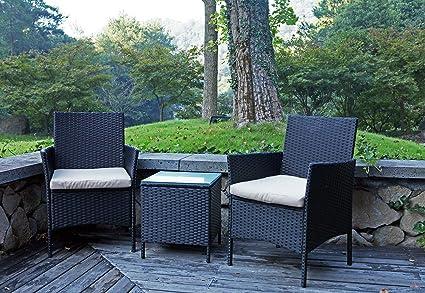 Amazon.com: United Flame HKI - Juego de muebles de exterior ...