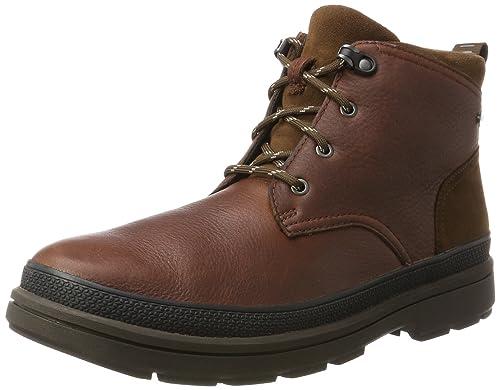 5f88c45b Clarks - Botines de Cuero Hombre: Amazon.es: Zapatos y complementos