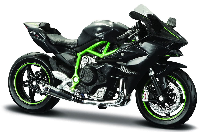 Maisto Peters Modellgarage, Kawasaki Ninja H2 R, Motorrad Modell 1:18