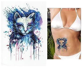 Tatuajes temporales Tempo rary Tattoo Fake Tattoo – De Gato Azul ...
