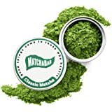 MatchaBar Ceremonial Grade Matcha Green Tea Powder | Antioxidants, Energy, & Amino Acids| Premium, First Harvest from Kagoshima, Japan | 30g Tin = 15 Servings