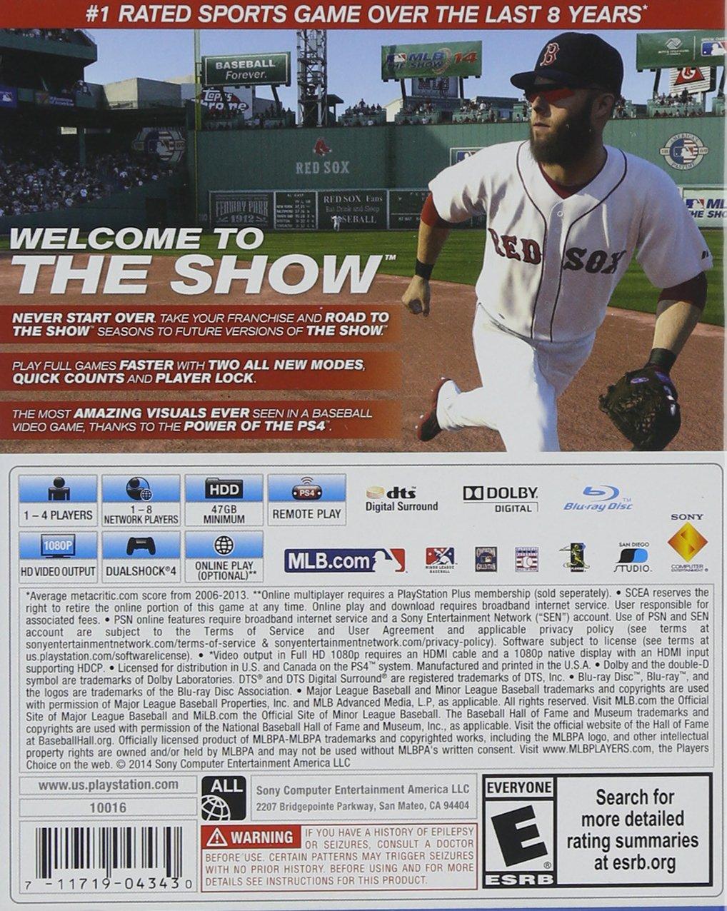 MLB 14: The Show [Vollversion] [PS4 PSN Code für deutsches Konto ...