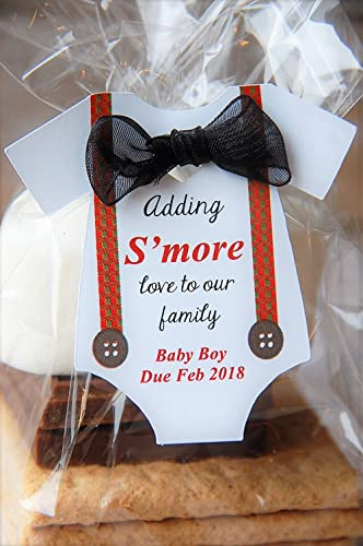 Amazon Com 10 Tags Adding S More Love To Our Family Baby Onesie