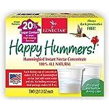EZNectar Happy Hummers, Concentrado de néctar de colibrí, 2 paquetes (28,3 g cada uno) - Todo Natural