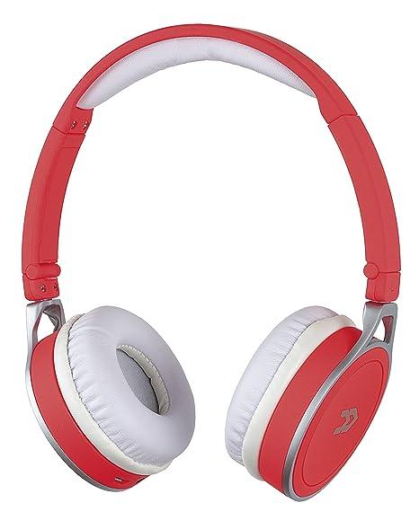 Avenzo AV623CO - Manos libres Bluetooth, color coral