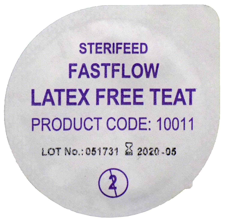 Sterifeed Latex Free Sterile Baby Teat, Fast Flow, Pack of 10
