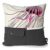 mimish Naturalist Pocket Throw Pillow - Stylish