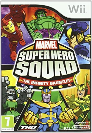 Marvel Super Hero Squad: The Infinity Gauntlet: Amazon.es ...