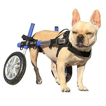 Perro silla de ruedas - para perros pequeños 8 - 25 libras - por ...