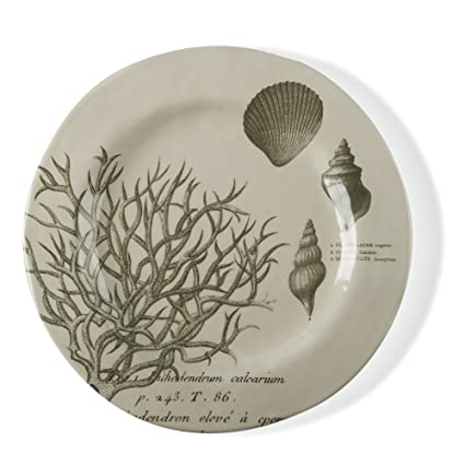 tag - Beachcomber Bamboo Melamine Dinner Plate Durable BPA-Free and Great for  sc 1 st  Amazon.com & Amazon.com | tag - Beachcomber Bamboo Melamine Dinner Plate Durable ...