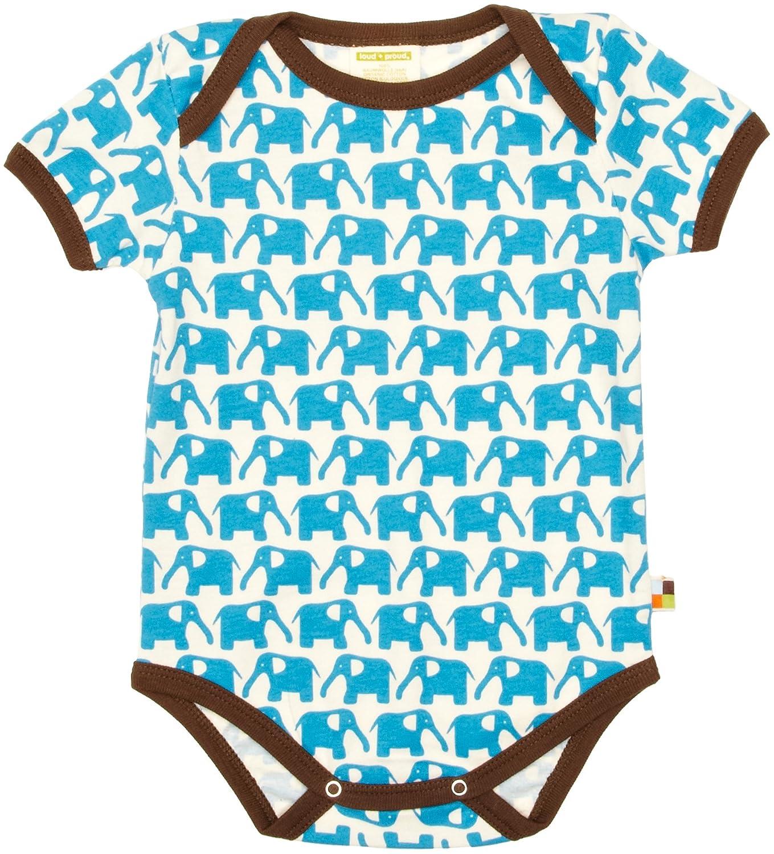 Organic Cotton proud Unisex Baby Short Sleeve Body loud