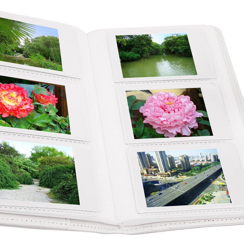 Sunmns imitation cuir Album photo pour Fujifilm Instax Mini Film instantan/é