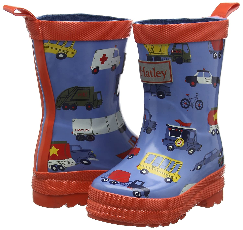 Hatley Printed Rain Boot Stivali di Gomma Bambino