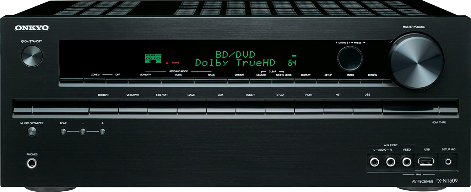 Onkyo TX-NR509 5.1 Channel Network A/V Receiver (Discontinued by Manufacturer)