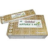 Bastoncini d'incenso 180g Goloka Nature's Nest Profumi - dal nido della natura