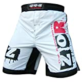 xTreme MMA Fight Shorts UFC Cage Fight Grappling Muay Thai Boxing WHITE AllSizes
