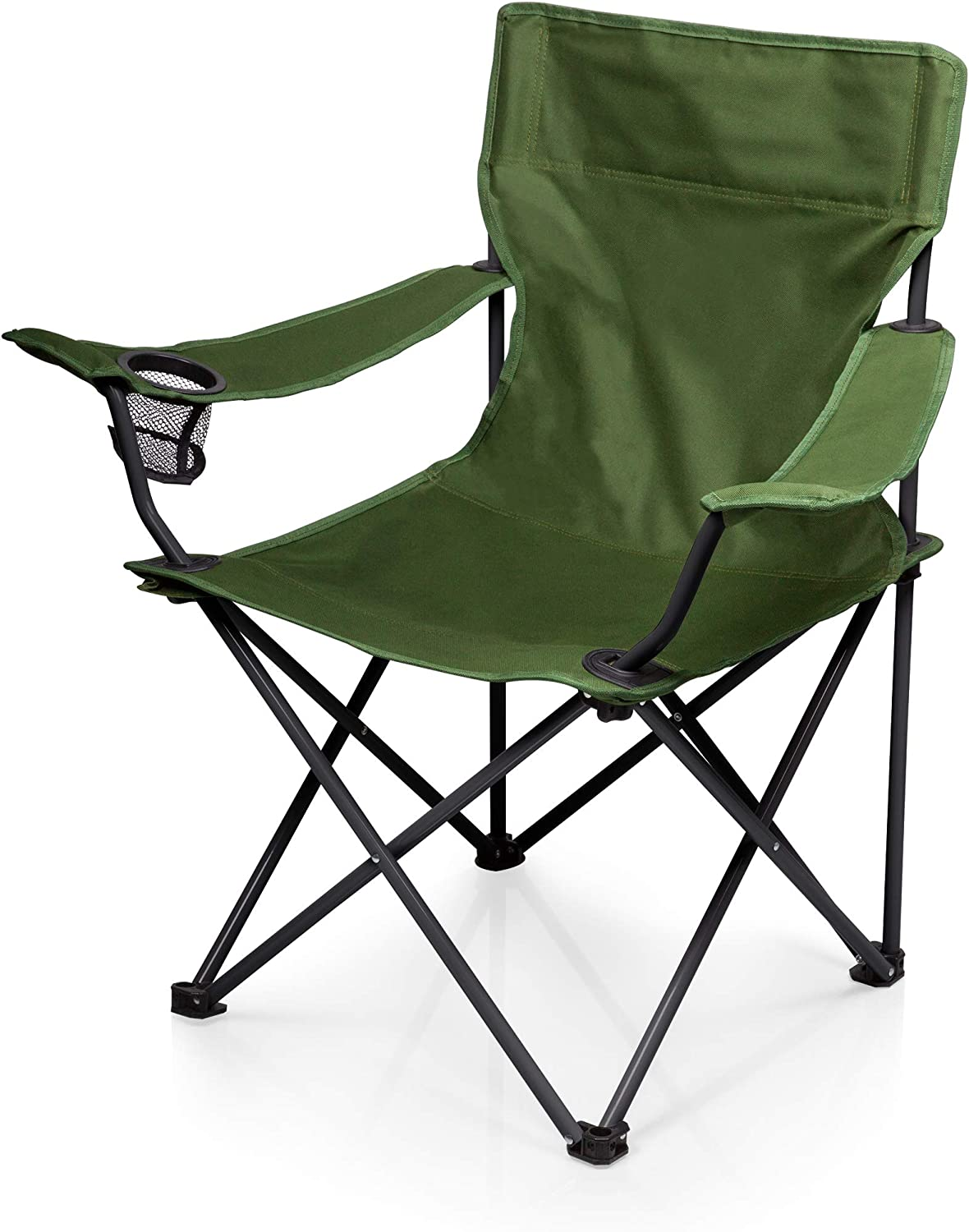 ONIVA – a Picnic Time Brand PTZ Portable Folding Camp Chair, Green