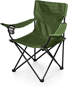 ONIVA - a Picnic Time Brand PTZ Portable Folding Camp Chair, Green