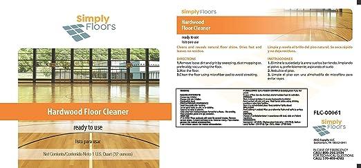 Amazon Simply Floors Hardwood Floor Cleaner384 Oz 12 Pack