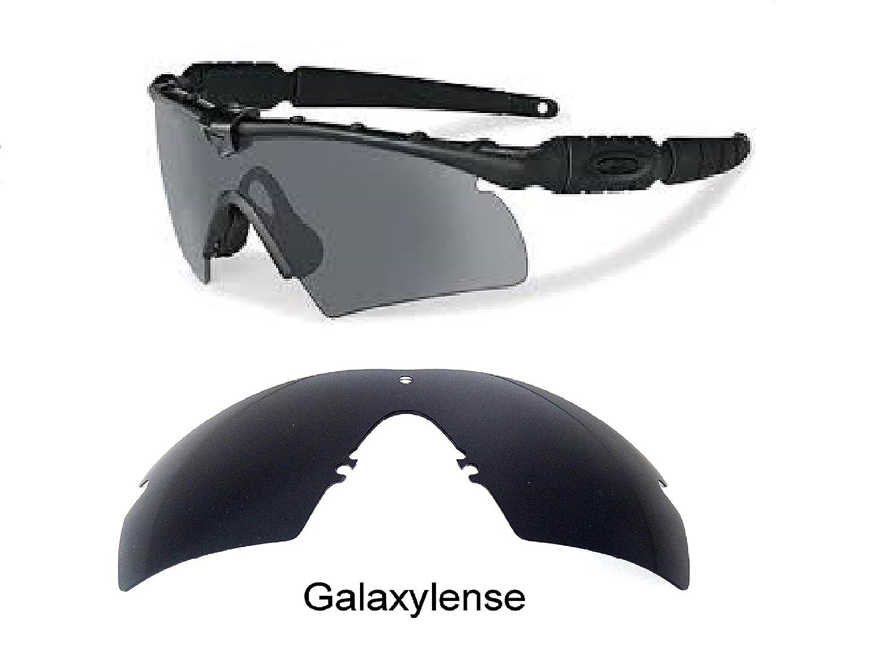 1c33118e85 Amazon.com  Galaxy Replacement Lenses For Oakley Si Ballistic M Frame 2.0  Z87 Black Polarized  Clothing
