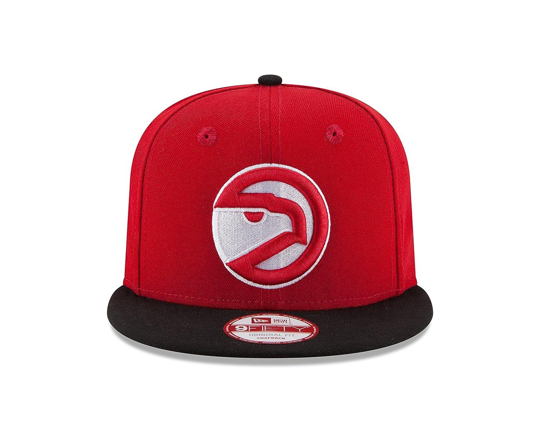 6feb155de6e Amazon.com   NBA Atlanta Hawks Hardwood Classics 2Tone Basic 9FIFTY  Snapback Cap