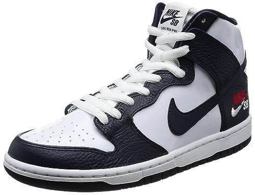 19418e5eb0b Nike Men's Dunk High Pro SB Skate Shoe Future Court 854851-441 Obsidian /White
