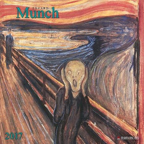 Calendario 2017 artista Edvard munch- expressionniste ...