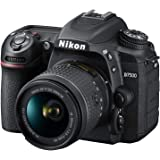 Nikon D7500 Australian Warranty Nikon D7500 + AF-P 18-55mm VR Single Lens Kit, Black (VBK510OA)