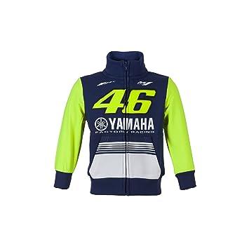 Valentino Rossi VR46 Moto GP M1 Yamaha Racing Junior Capucha Oficial 2017: Amazon.es: Deportes y aire libre