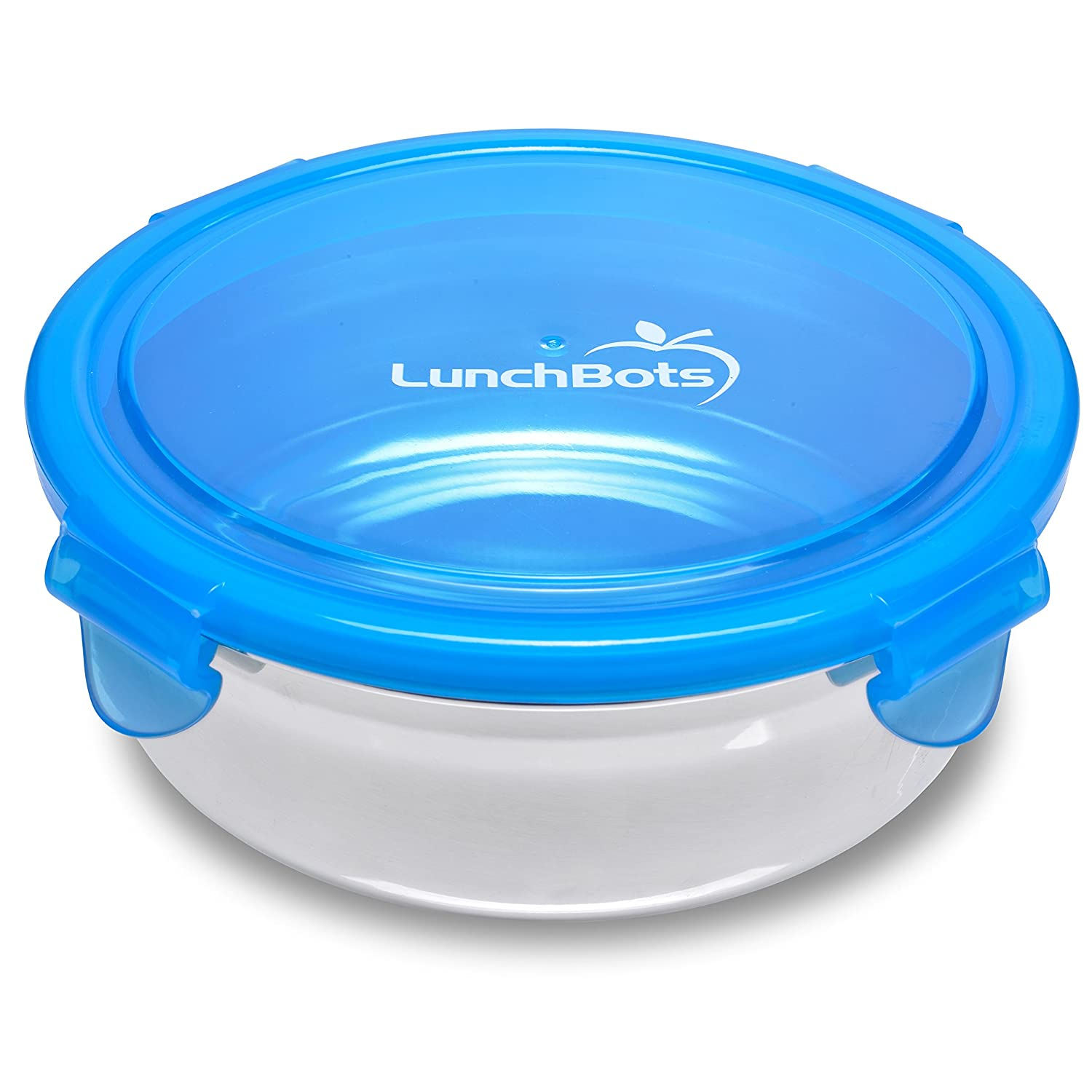 Amazon Com Lunchbots Clicks Stainless Steel Food Container 2 5 Cup