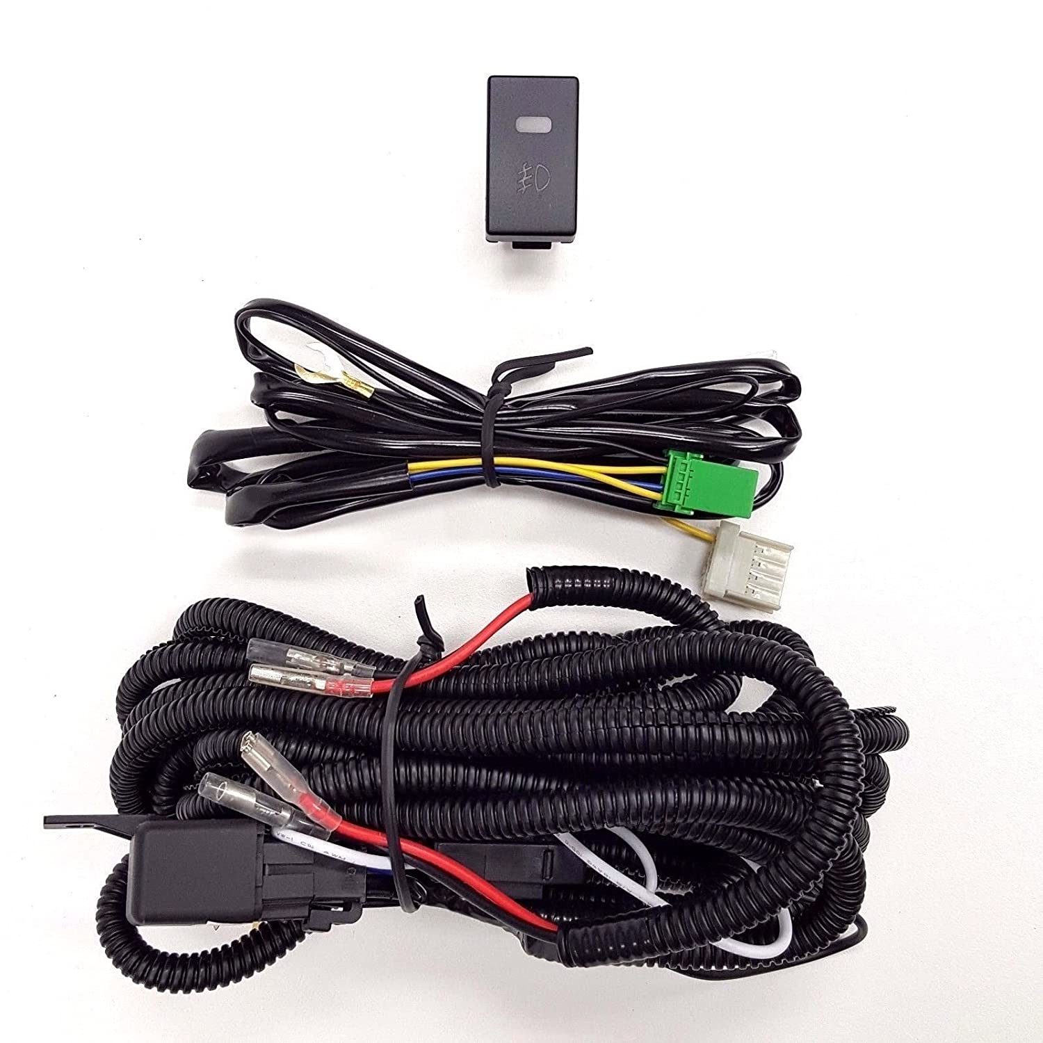 H3 Wiring Harness Library How To Wire A Light Switch And Receptacle Amazoncom Ledin 12v 30a Fog Relay Kit On
