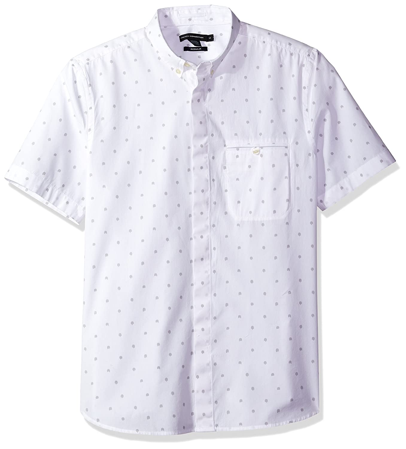 French Connection Mens Halley Dot Regular