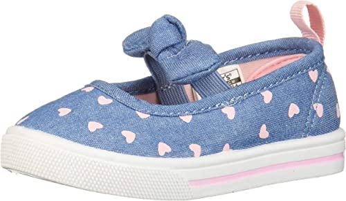 7 M US Toddler Blue Carters Girls Caroline2 Slip-on Mary Jane