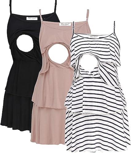 Bearsland Women S Maternity Nursing Tank Tops Sleeveless Breastfeeding Clothes At Amazon Women S Clothing Store
