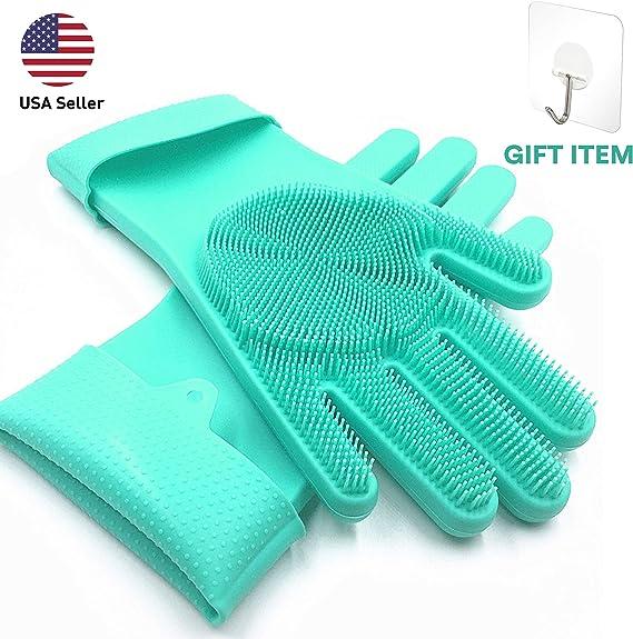 Amazon.com: SolidScrub - Guantes de silicona mágicos para ...